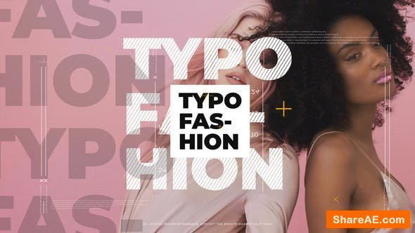 Videohive Typographic Modern Promo