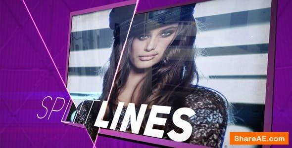 Videohive Split Lines