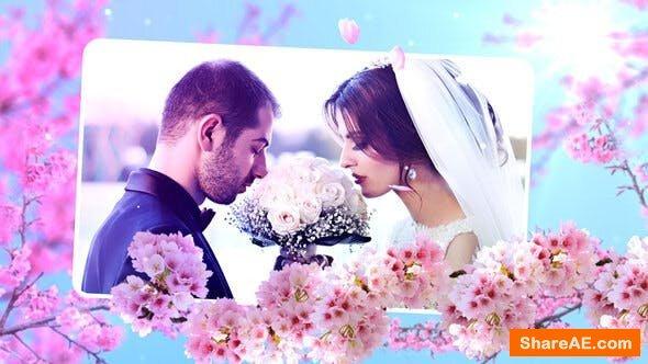 Videohive Wedding Flowers Slideshow