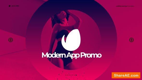 Videohive Modern App Promo 24087614