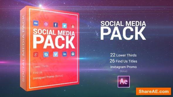 Videohive Social Media Pack 21175146