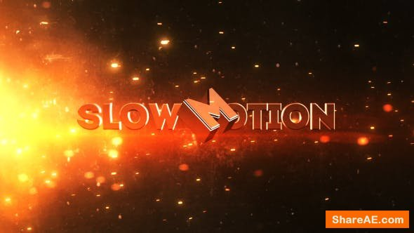 Videohive Slow Motion Trailer