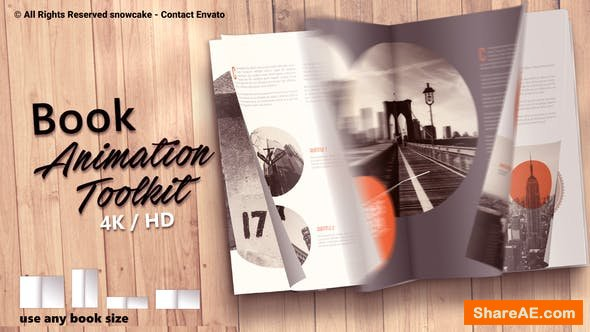 Videohive Book Animation Toolkit