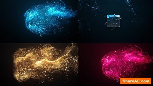 Videohive Elegant Particle Logo 22839895