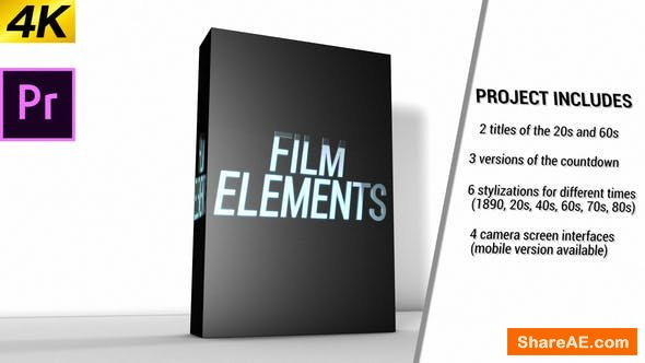 Videohive Movie Element Pack - Premiere Pro