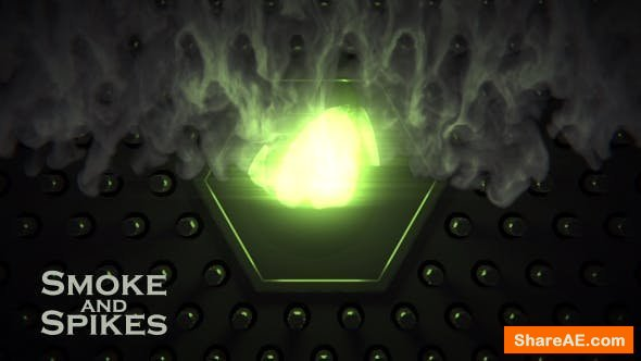 Videohive Smoke and Spikes
