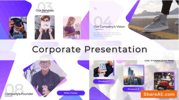 Videohive Corporate Video Presentation