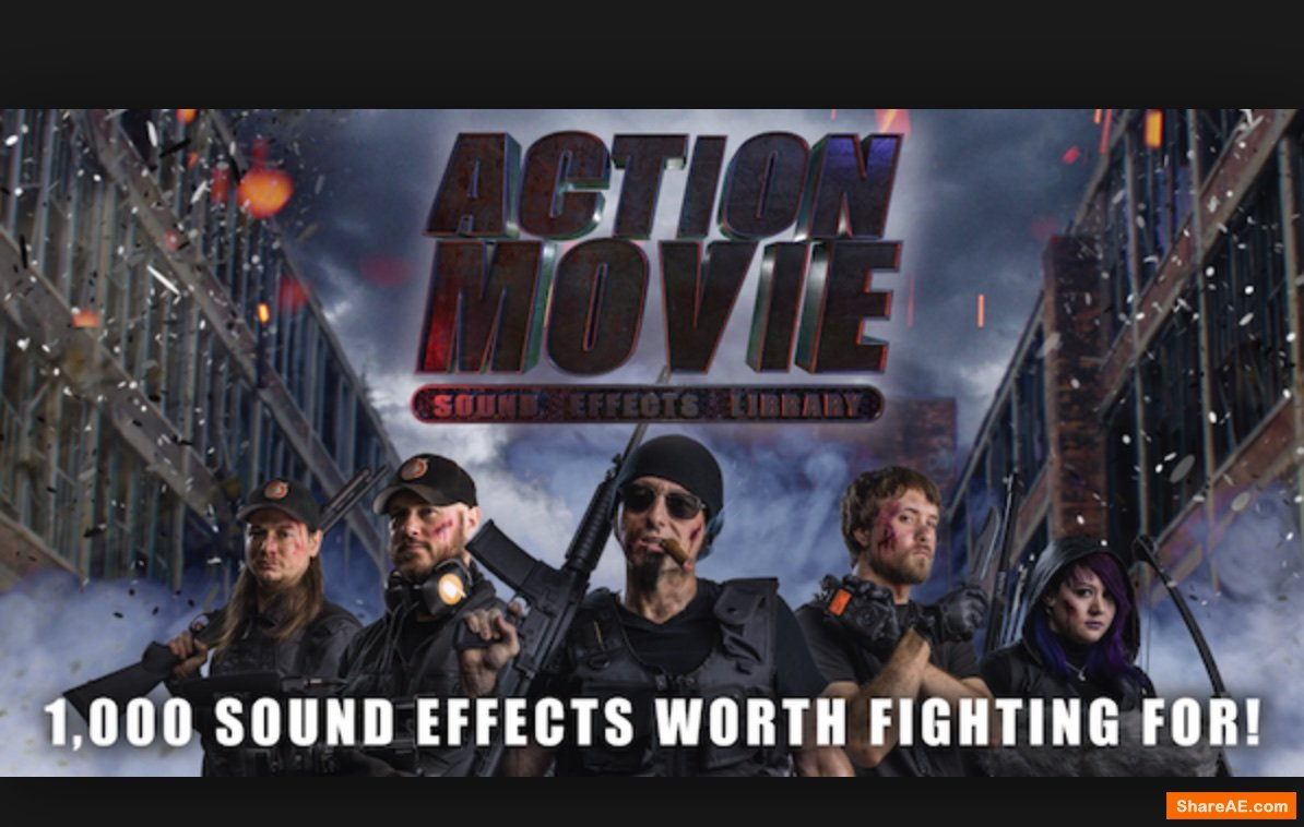 Blastwave FX Action Movie Sound Effects Library WAV MP3