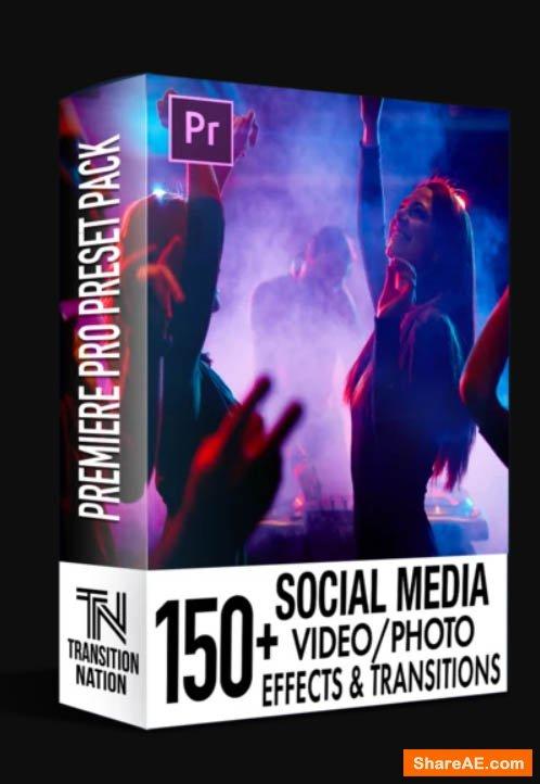 150+ Social Media FX Pack for Premiere