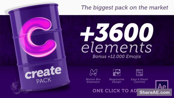 Videohive Create Pack
