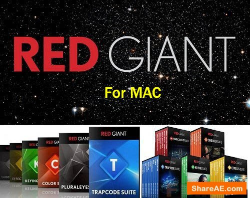 Red Giant Complete Suite 2019 for Adobe (Updated 30.07.2019) MacOS