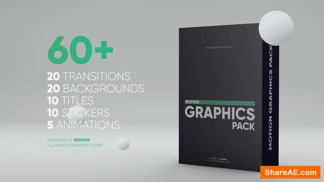 60 Motion Graphics Pack For Premiere Pro