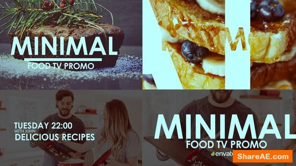 Videohive Tv Minimal Food Promo