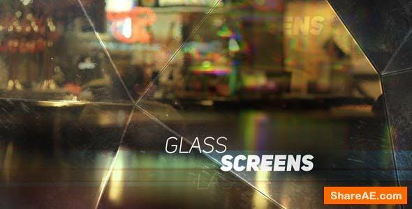 Videohive Glass Screens