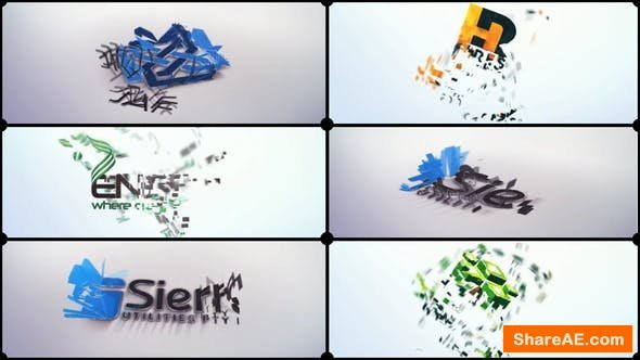 Videohive Cards Corporate Logo
