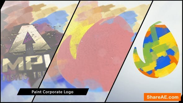 Videohive Paint Corporate Logo