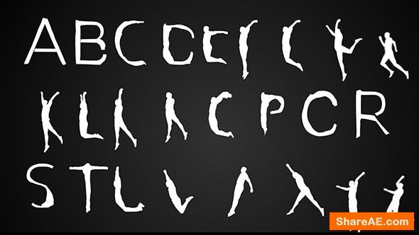 Videohive Human Typeface | After Effects Template