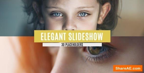 Videohive Elegant Slideshow 10620437