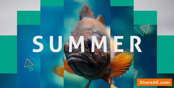 Videohive Summer Dynamic Opener