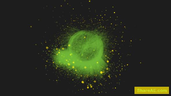 Videohive Galactic Blast Logo