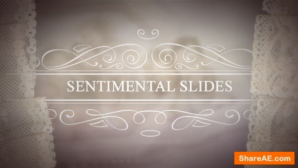 Videohive Sentimental Slides