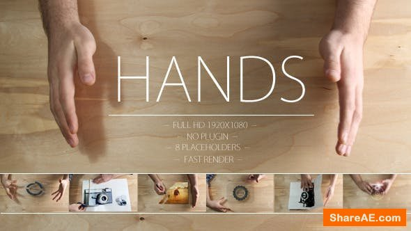 Videohive Made by Hands