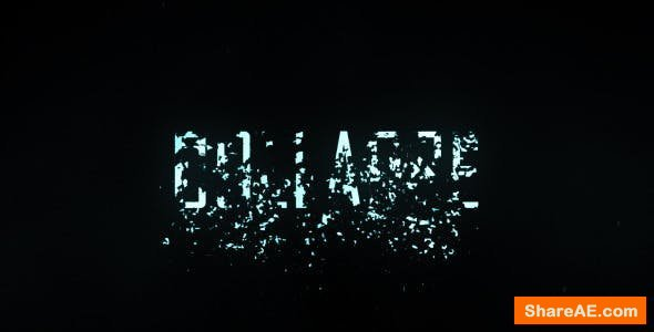 Videohive Collapse Title Trailer
