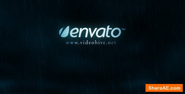 Videohive Lightning Thunder Logo Reveal