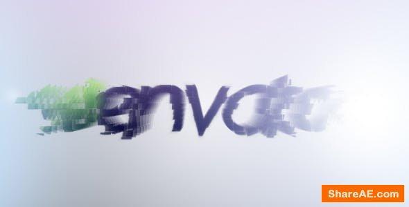 Videohive Pixel Blocks Logo Reveal