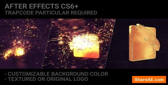 Videohive Epic Particles Logo Reveal