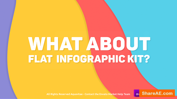 Videohive Flat Infographics Toolkit v1.1