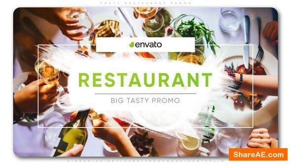 Videohive Tasty Restaurant Promo