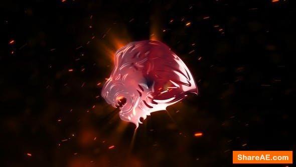 Videohive Explosion Fire Logo