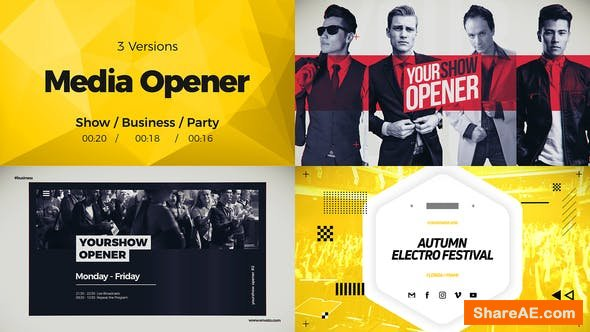 Videohive Media Opener 22838540