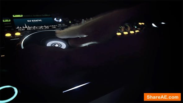 Videohive DJ Logo Opener