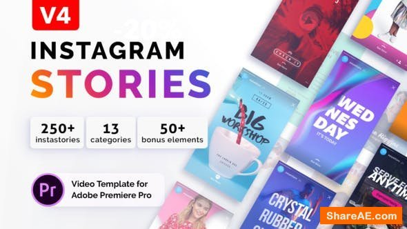 Videohive Instagram Stories v3 | For Premiere Pro