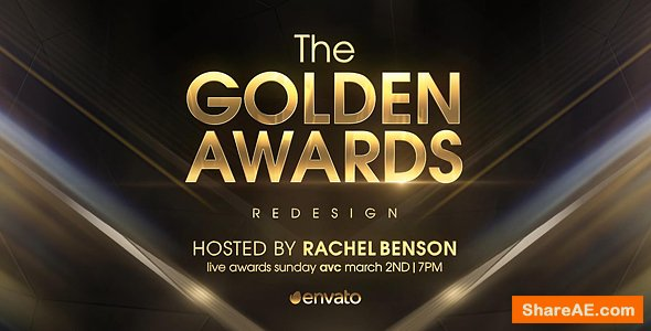 Videohive Golden Awards Opener Redesign
