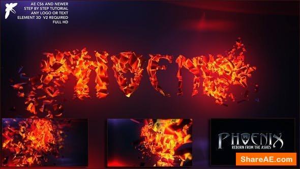 Videohive Fire Logo 24257439
