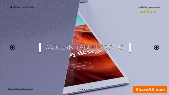 Videohive Modern Tablet Promo
