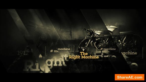 Videohive A Journey In History