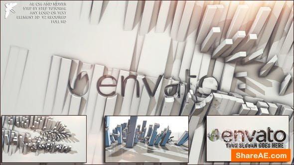 Videohive Elegant 3d logo