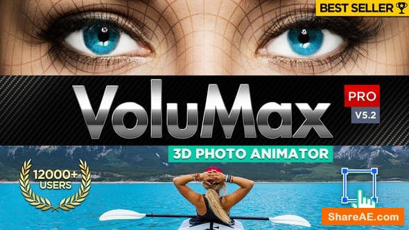 VoluMax - 3D Photo Animator v5.2 Pro - Videohive