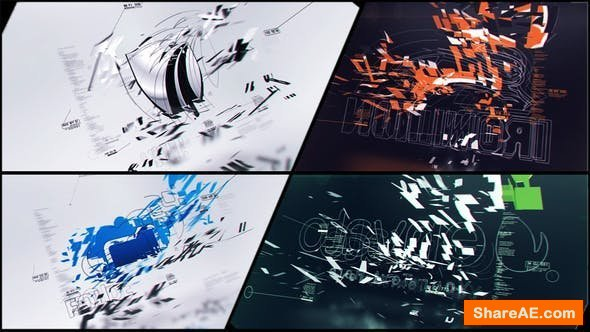 Videohive Corporate Logo V20 Technology Company Ident