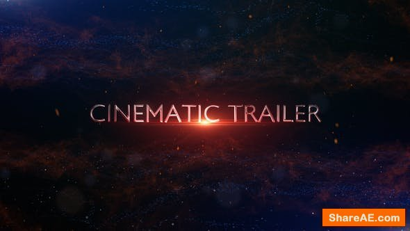 Videohive Cinematic Trailer Titles 24292957