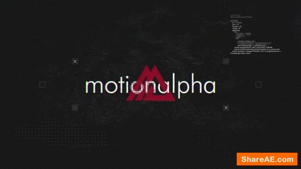 Videohive Digital Grunge Intro