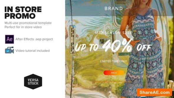 Videohive In Store Sale Promo