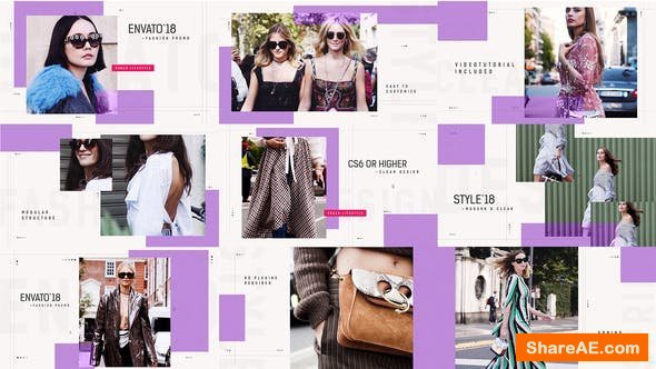 Videohive Clean Fashion Promo