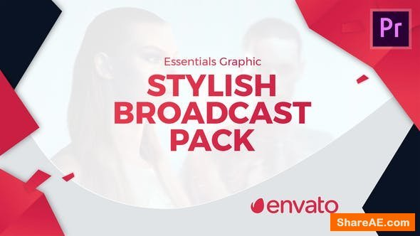 Videohive Stylish Broadcast Pack | Essential Graphics | Mogrt - Premiere Pro