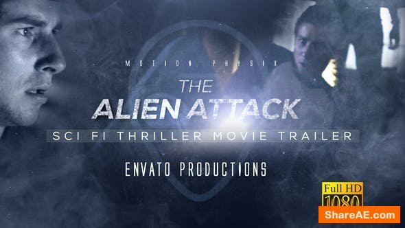 Videohive Sci Fi Thriller Movie Trailer