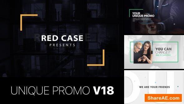 Videohive Unique Promo v18   Corporate Presentation
